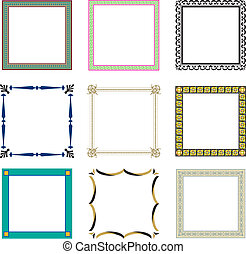 Frames pattern (set19)