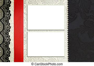 frames., plantilla, photobook, álbum de recortes, decorativo...