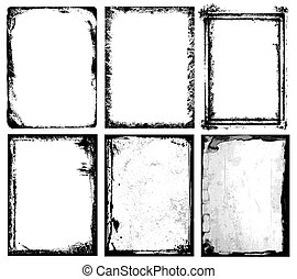 Frames & Textures - Set of different frames & textures.