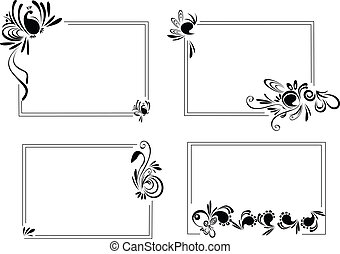Frames - 4 different Frames