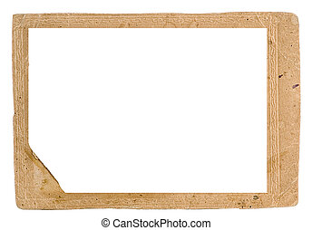 Framework for a photo traditional for the beginning the last...