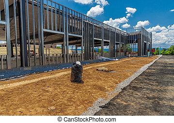 Framework For New Commercial Building Construction