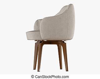 framförande, stol, trä, ben, 3