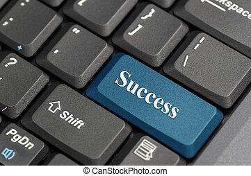 framgång, tangentbord