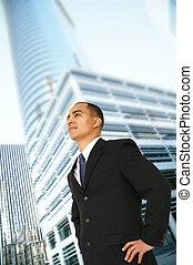framgångsrik, ägare, affär