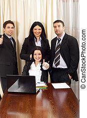 framgångsrik, affärsfolk