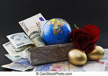framgångsrik, investering, global, differentiering