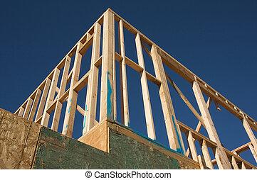 framing., construcción casera