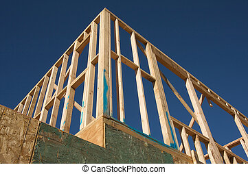 framing., construction maison