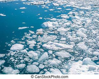 frammenti, iceberg