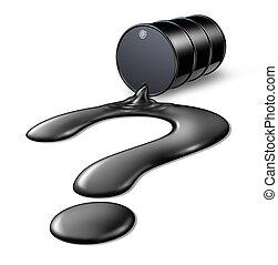 framtid, olja