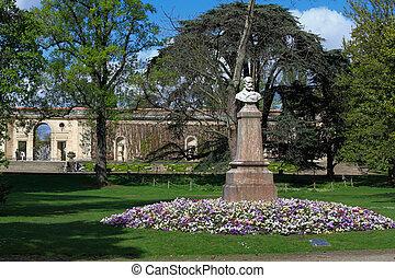 frança, jardim, botanica, público, bordeaux, jardin, ...