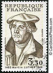 frança, -, luther, mostra, (1483-1546), martin, 1983: