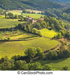 francés, paisaje