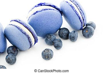 francês, macarons