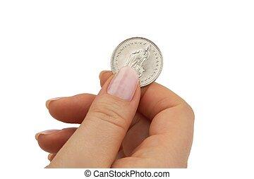 franc suisse, monnaie