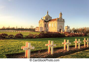 francais, cimetière national, notre-dame-de-lorette, -, ablain-saint-nazaire