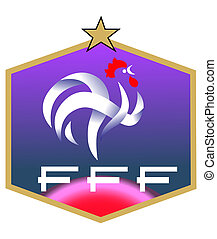 francais, football, club, logo