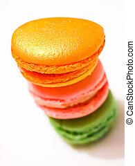 francais, macarons