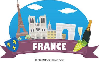 france., 観光事業, 旅行