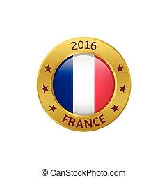 france, 2016, étiquette
