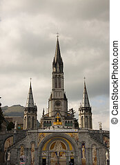 France - Cathedral of Lourdes