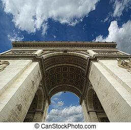 france., de, arco, triomphe, paris