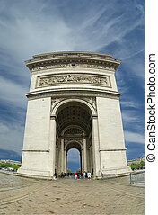 france., de, arco, triomphe, paris