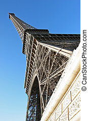 france., eiffel, parís, torre