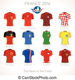 France EURO 2016 Jersey Icons - France EURO 2016...