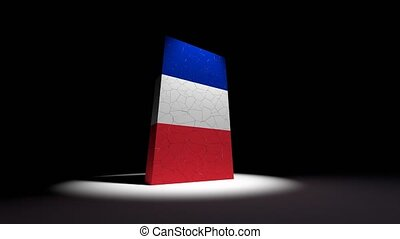 France French collapse flag euro europe european