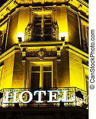 france., hôtel, paris