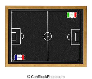 France - Italy.