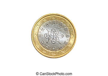 France one euro coin