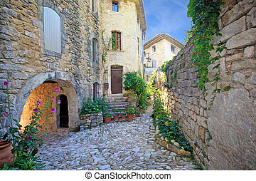 France - Oppède le Vieux