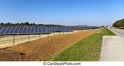 France photovoltaic power station