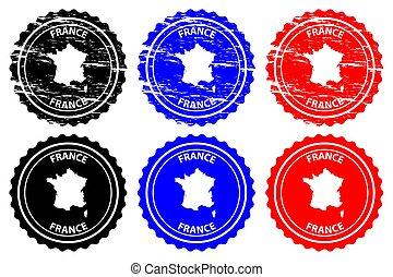 France - rubber stamp