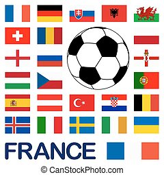France soccer game national teams