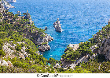 france, sud, marseille, calanques, cassis