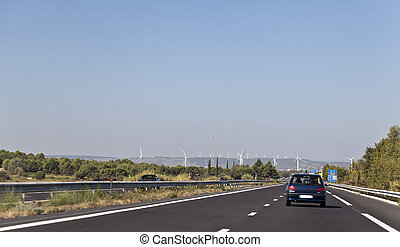 France wind power generation