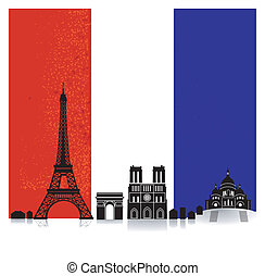 France with Flag