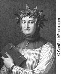 Petrarch - Francesco Petrarca aka Petrarch (1304-1374) on...