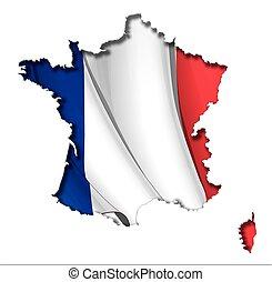 francese, map-flag