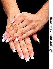francesi fa manicure