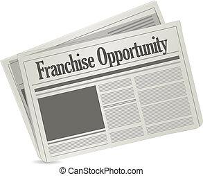 franchise, avis, lejlighed