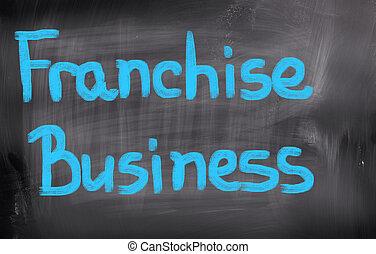 franchise, concept, business