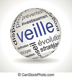 francia, ügy, karóra, téma, gömb, noha, keywords