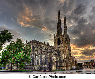 francia, -, aquitaine, santo-andre, catedral, burdeos
