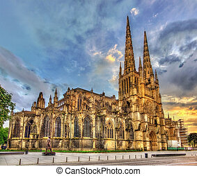 francia, -, aquitaine, santo-andre, cattedrale, bordeaux