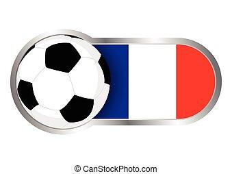 franciaország, jelvény, futballcsapat